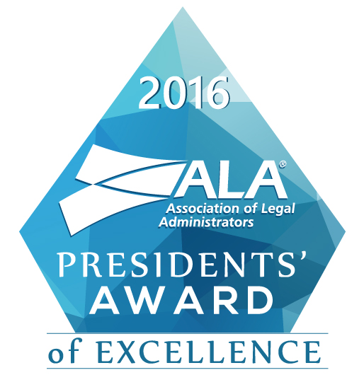 ALA 2016 Presidents Award